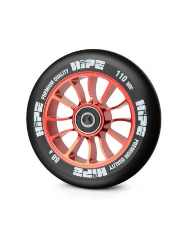 Колесо HIPE 01 110mm Красный/черный