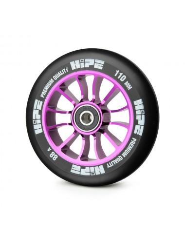 Колесо HIPE 01 110mm Сиреневый/черный