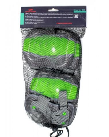 "Защита колен, локтей, запястий Safety Line 300 зеленая ""L"""