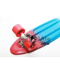 Миникруизер Tricolor pastel red 22''x6'', Abec-7
