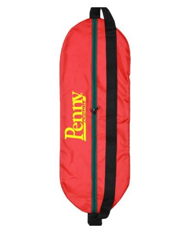 """Чехол-сумка для миникруизера 22.5"""" красная с логотипом"""