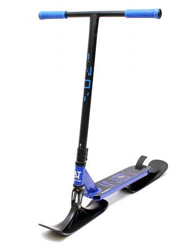 Трюковый самокат AT INOY 2021 New с лыжами синий