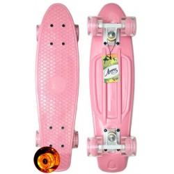 Круизер пластиковый Лидер Pink 22
