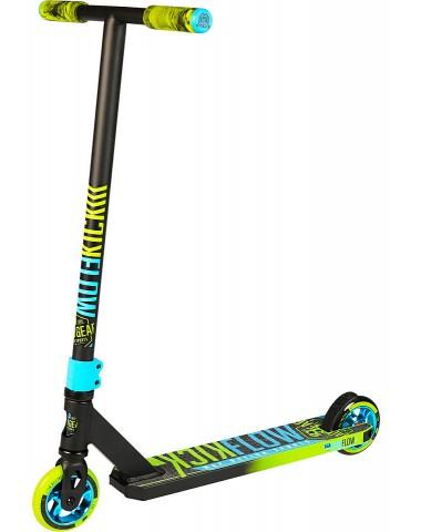 Трюковый самокат (MGP) Madd Gear KICK FLOW SCOOTER 2020 (черно-зеленый)