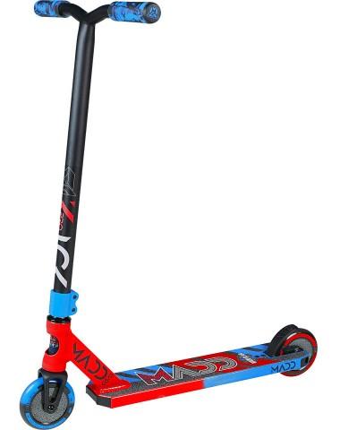 Трюковый самокат Madd Gear (MGP) Kick Pro SCOOTER (2020) (красно-синий)