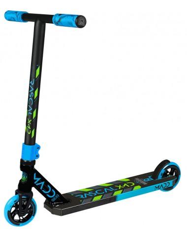 Трюковый самокат (MGP) Madd Gear Kick Rascal Scooter (2020) (сине-зеленый)