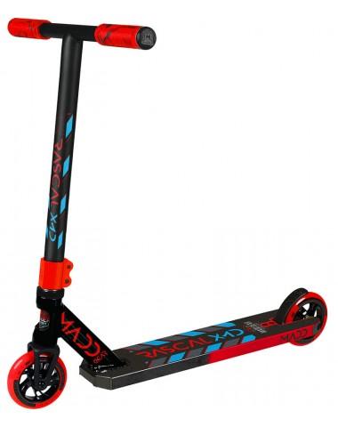 Трюковый самокат (MGP) Madd Gear Kick Rascal Scooter (2020) (красно-синий)