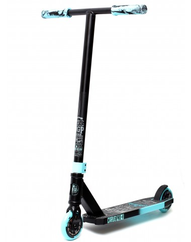Трюковый самокат MGP (Madd Gear) Carve Pro-X (черно-бирюзовый)