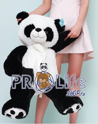 Плюшевая панда 100 см