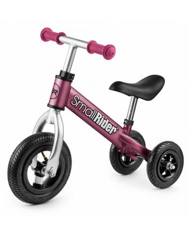 Беговел каталка для малышей Small Rider Jimmy вишня
