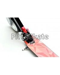 Самокат Ridex Marvel 200 мм, красный/черный