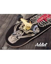 Cкейтборд в сборе  Addict 31″X8.125″