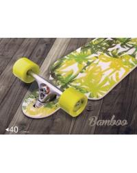 Лонгборд 38″X9″, ABEC-5, Bamboo
