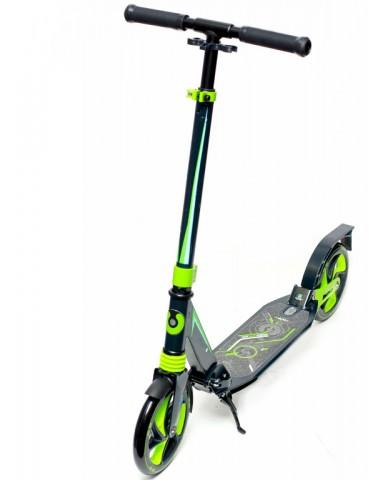 Самокат Ridex Stellar 200 мм, зеленый/черный