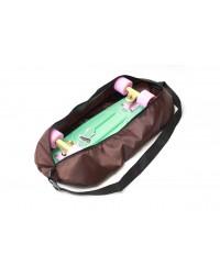 """Чехол-сумка для миникруизера 22.5"""" коричневый"""