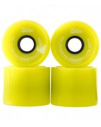 Комплект колес для лонгборда SB, зеленый, 4 шт.
