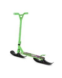 Трюковый самокат-снегокат с лыжами и колесами Small Rider Combo Runner BMX (зеленый)