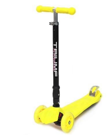 Самокат Triumf SKL-07CL maxi flash plus желтый