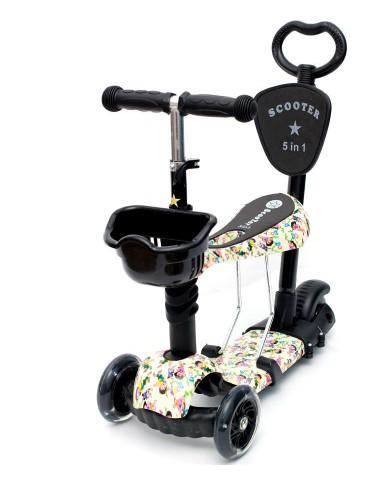 Самокат scooter  5в1 children