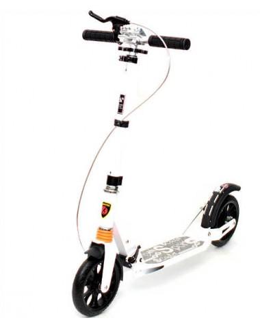 Самокат Urban Scooter с дисковым тормозом белый