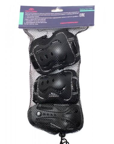 Защита колен, локтей, запястий Safety Line 700 черная
