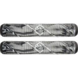 Грипсы Striker Thick Logo Pro Scooter Grips (Black/White)