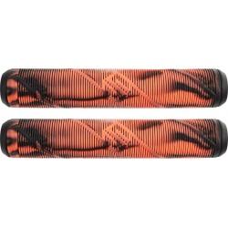 Грипсы Striker Thick Logo Pro Scooter Grips (Black/Orange)