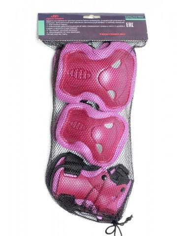 Защита колен, локтей, запястий Safety Line 600 розовая