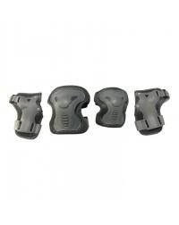 Защита колен, локтей, запястий Safety Line 600 серая