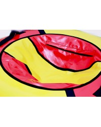 Тюбинг красно/желтый  с бортами 115 см