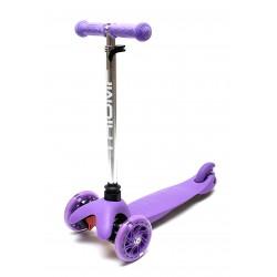 Самокат Triumf SKL-06AH  mini up flash фиолетовый