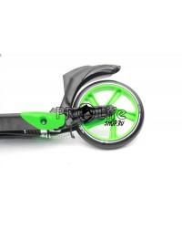 Самокат Triumf Active K5 зеленый с ручным тормозом