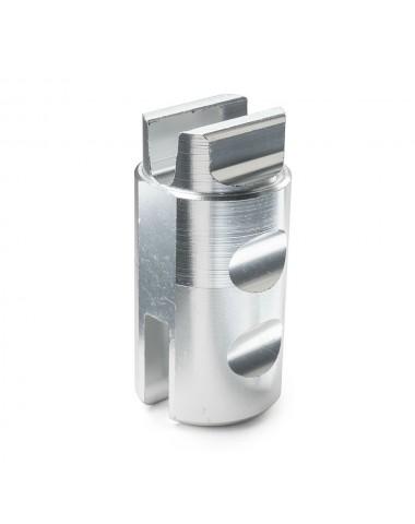 Кнопка Trolo фиксатор скл. механ. Pixel__DELIM__ Quantum серебро