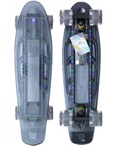 Миникруизер  22  светящийся прозрачный серый