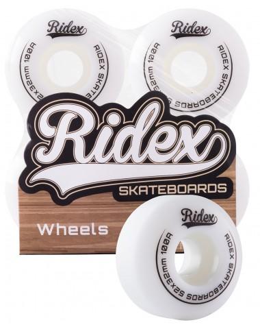 Комплект колес для скейтборда SB, 52*32, белый