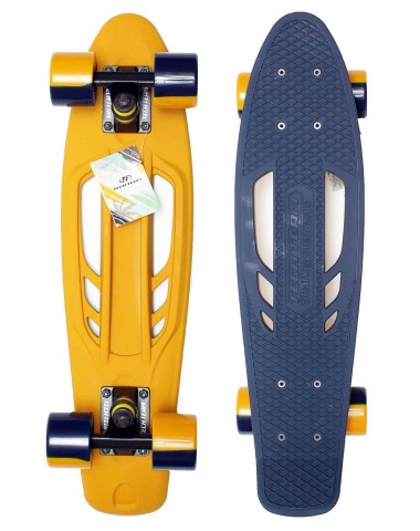 "Миникруизер Shark 22""6"" Abec 7 chrome blue"