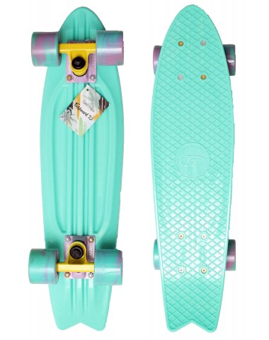 "Миникруизер FISHBOARD 23"" Abec 7 chrome minty"