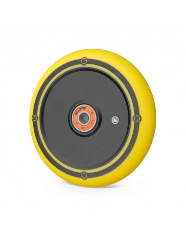 Колесо Hipe Flat Solid logo 110мм черный/желтый