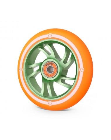 Колесо Hipe 5W 110мм зеленый/оранжевый