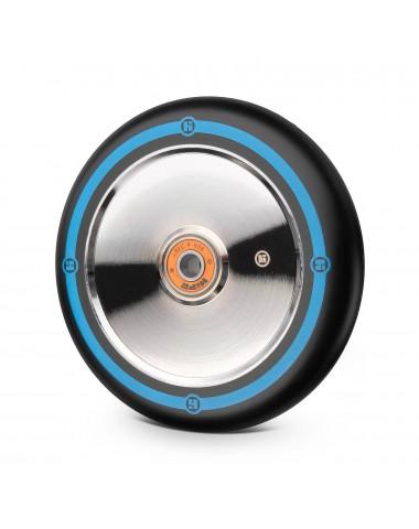 Колесо Hipe Flat Solid logo 125мм серебро-синий