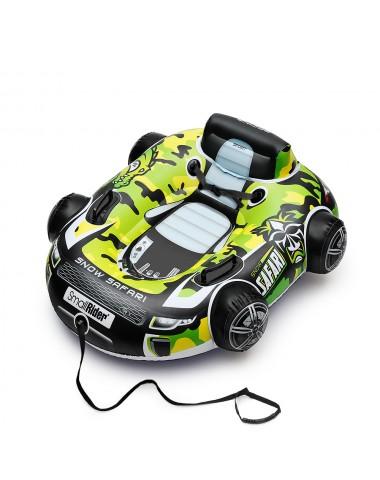 Надувные бескамерные санки-тюбинг Small Rider Snow Safari 2 зеленый