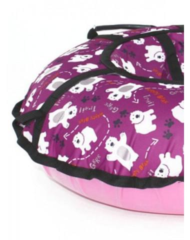 Тюбинг Triumf Active Люкс Pro Мишки розовые 105 см
