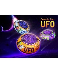 Надувные санки-ватрушка (тюбинг) Small Rider UFO (CZ) (синий медвежонок)
