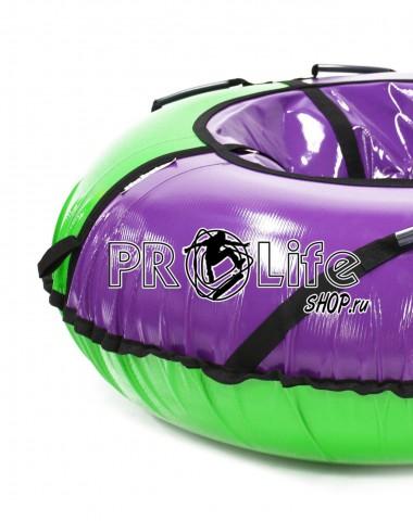 Тюбинг Hubster Sport Plus фиолетовый/зеленый 105см