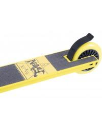 Самокат трюковый Fallen Yellow 100 мм