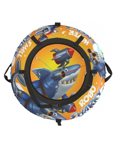 "Тюбинг Small Rider Snow Tubes 4 (""Акула Робот 110 см"")  (оранжевый)"