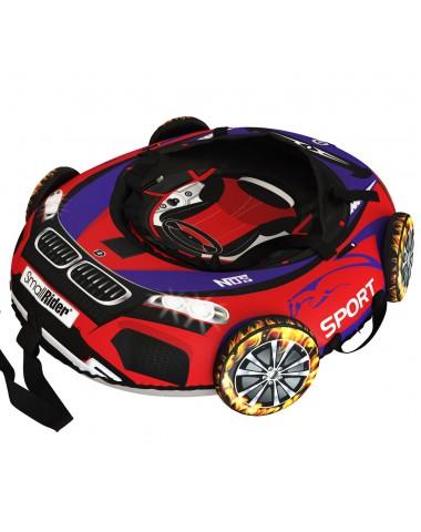 """Тюбинг Small Rider Snow Tubes 4 (""""Машинки XL"""" с колесами) (ВМ красно-синий)"""