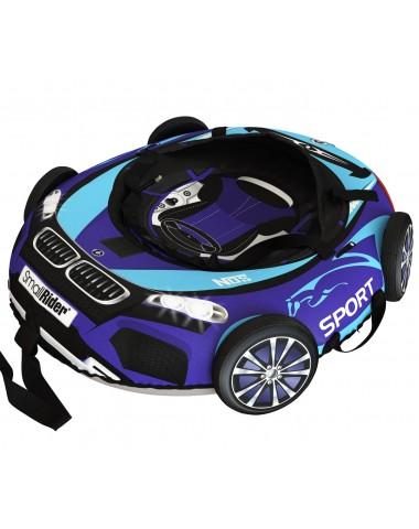 "Тюбинг Small Rider Snow Tubes 4 (""Машинки XL"" с колесами) (ВМ сине-голубой)"