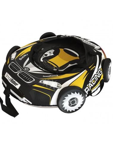 "Тюбинг Small Rider Snow Tubes 4 (""Машинки XL"" с колесами) (ВМ черно-желтый)"