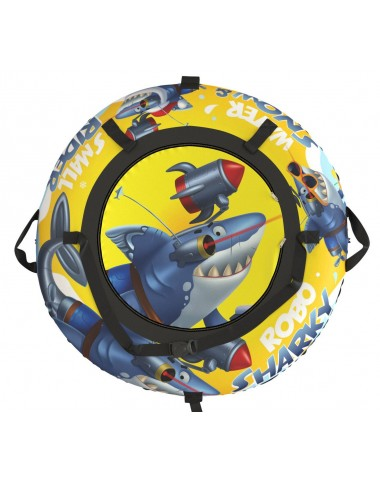 """Тюбинг Small Rider Snow Tubes 4 (""""Акула Робот 110 см"""")  (желтый)"""